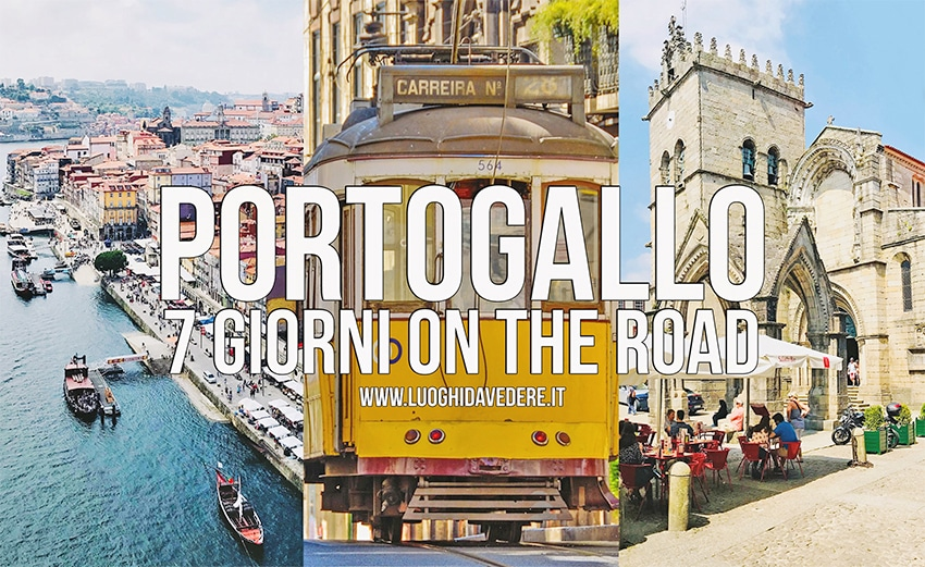 Itinerario on the road di 7 giorni in Portogallo